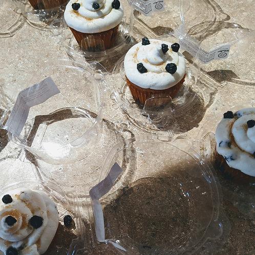 """Blueberry Pancake"" Cupcakes"