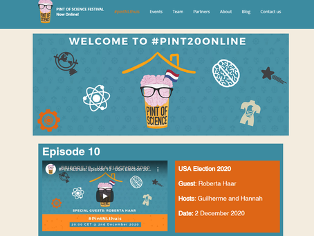 Check out our #pintNLthuis episodes