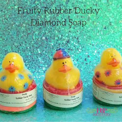 rubber ducky diamond soap
