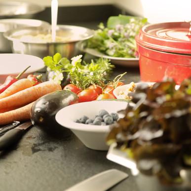 Kochkurs Vorbereitung