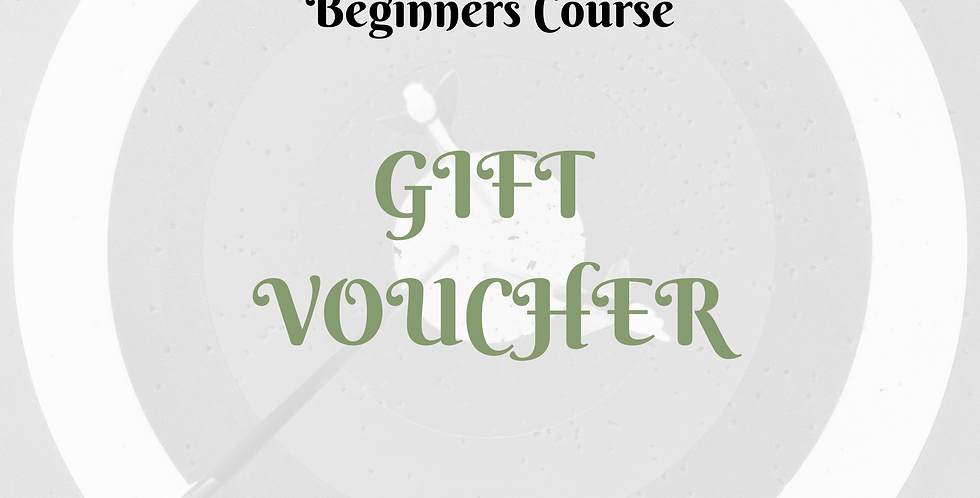 Gift Voucher - Beginners Course