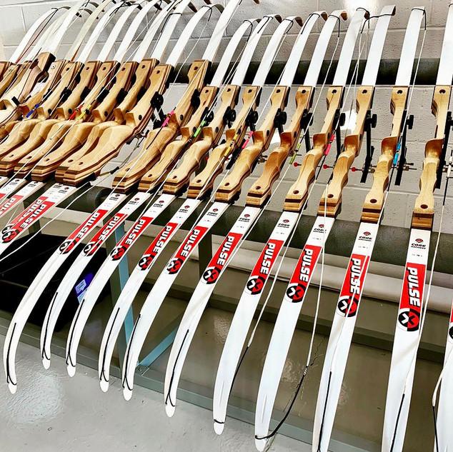 Handmade Bow Rack/ Recurve Bows