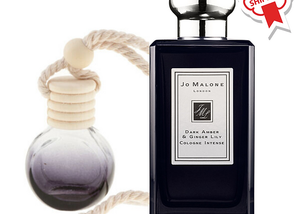 Inspired by Jo Malone Dark Amber & Ginger Lily Car Diffuser