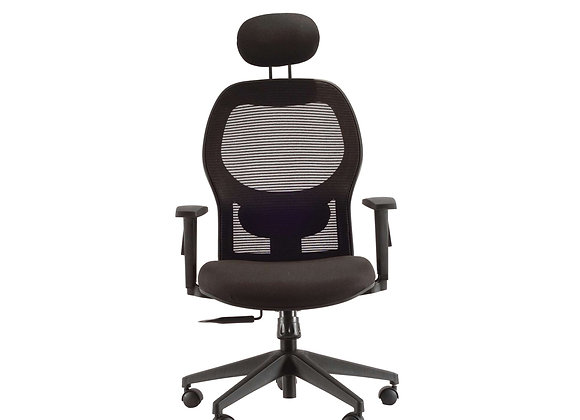 Y Mesh Revolving Chair with Headrest