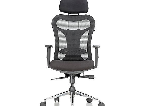 Featherlite Optima High Back Revolving Chair