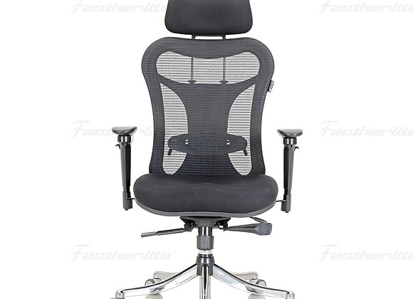 Featherlite Optima High Back Revolving Chair