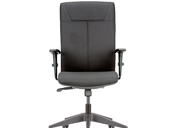Featherlite Click High Back Cushioned Revolving Chair