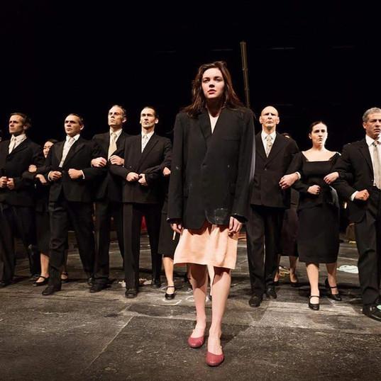 """Stephanie plays Anna in """"Die Sieben Todsunden"""" by Pina Bausch"""