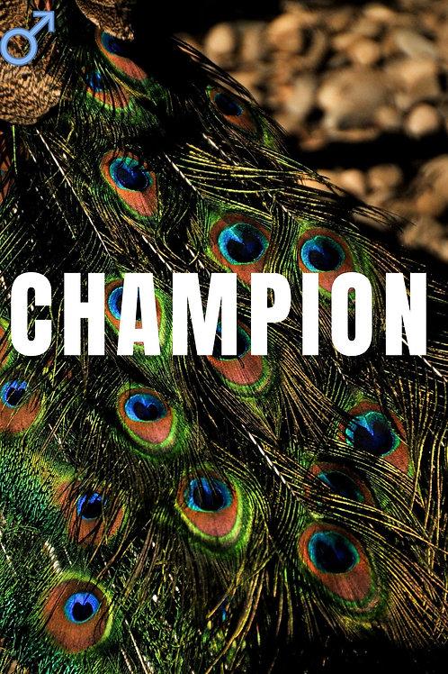 Champion Eau de Parfum Decant