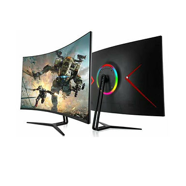 """Smart 32"""" Curved 2K Gaming Monitor"""
