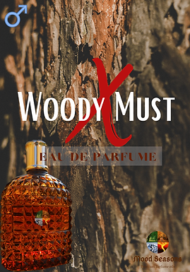 Woody Must Extreme EDP 100ml Spray