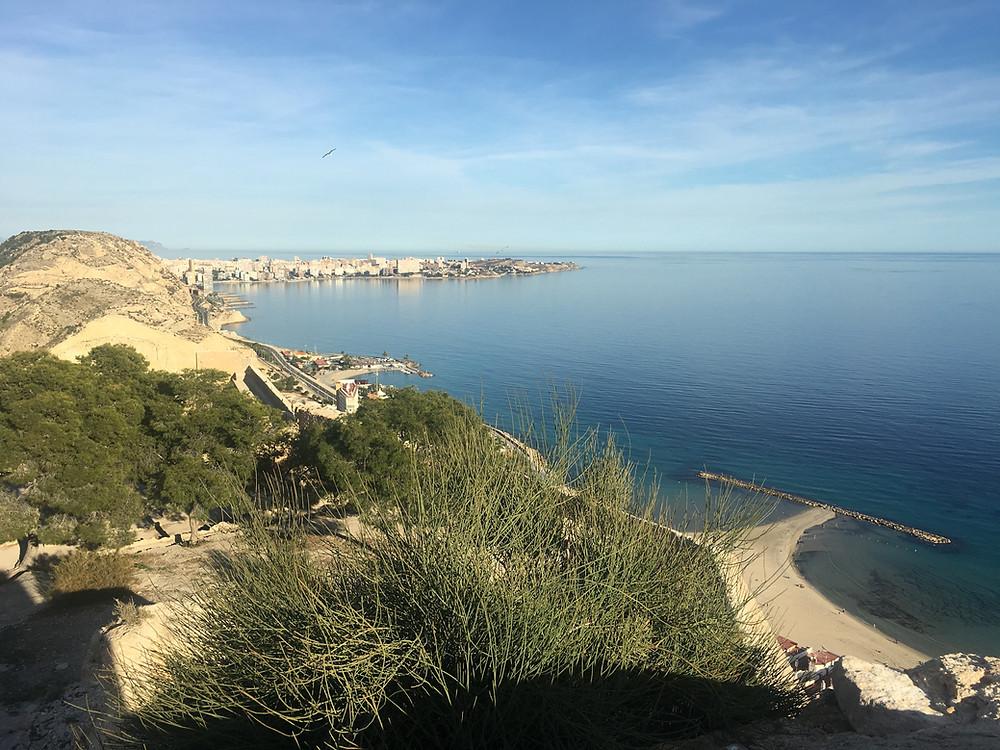 Alicante coast line