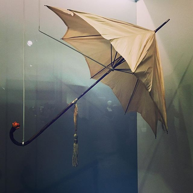 antique umbrella made with sustainable materials