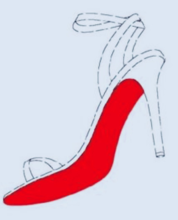 Louboutin red sole trade mark Europe