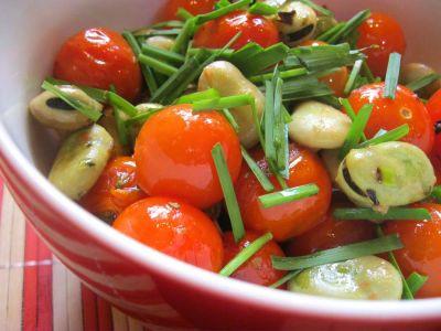 Салат со стручковыми бобами