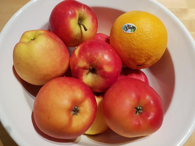 Согревающий фруктовый сидр  со специями