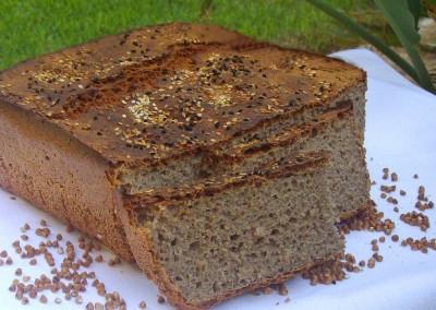 Домашний гречишный хлеб