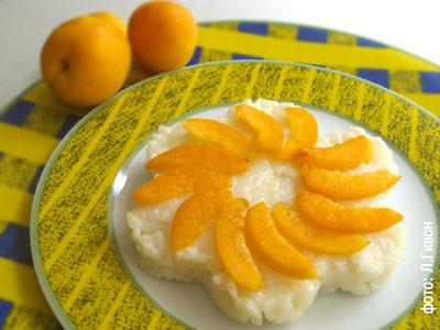 Ризотто со свежими фруктами
