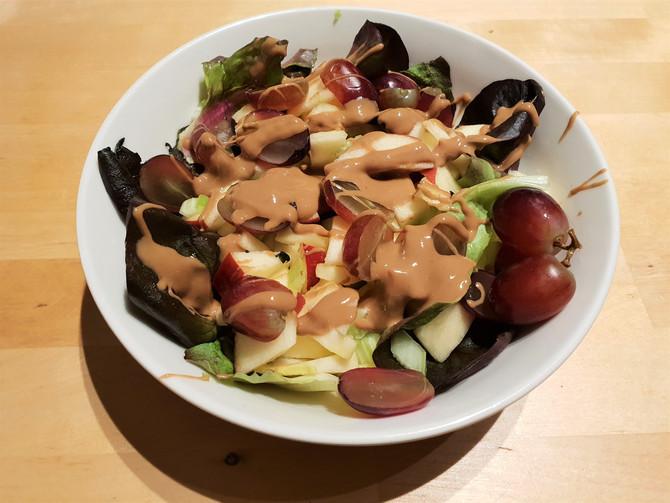 Фруктовый салат с маслом кешью