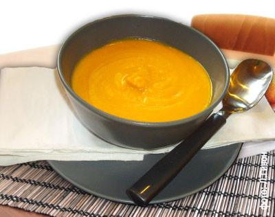 Оранжевый суп