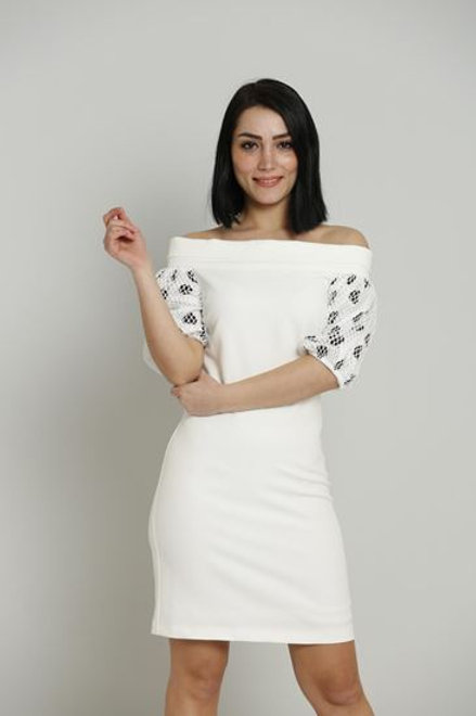 Joymiss Mini Three Quarter Sleeve Casual Evening Dresses