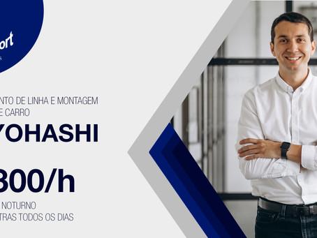 Toyohashi: Abastecimento de Linha e Montagem de Banco de carro | ¥1300/h