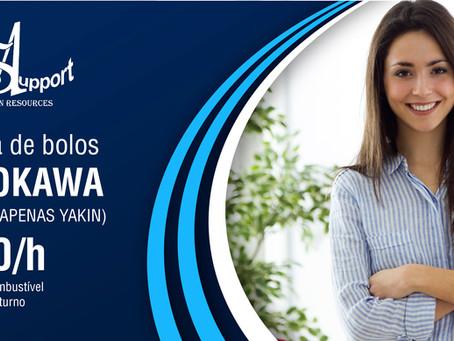 Toyokawa: Fábrica de bolos | ¥950/h + Benefícios