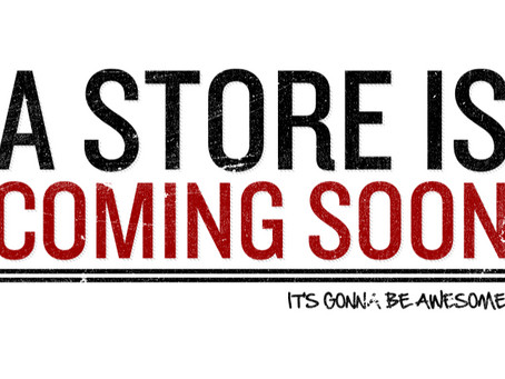 New Stores Coming to the Texas/DFW area!