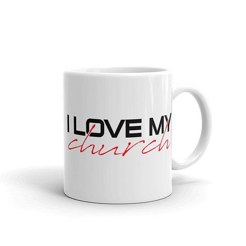 I LOVE MY CHURCH Mug