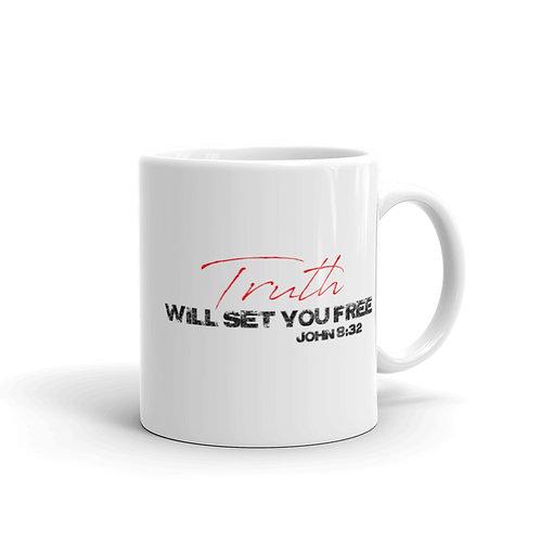 TRUTH WILL SET YOU FREE Mug