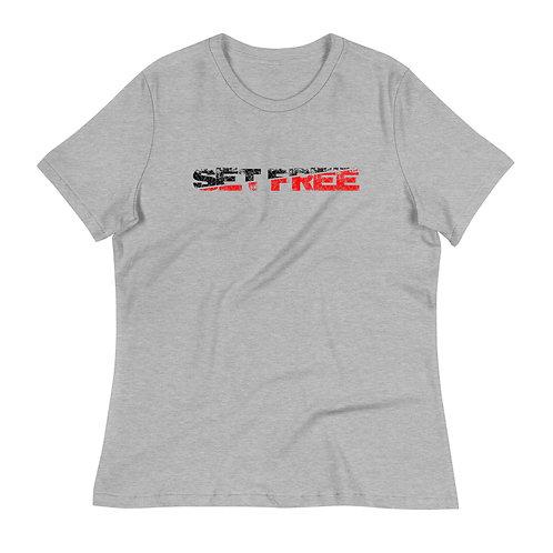 SET FREE Women's Relaxed T-Shirt