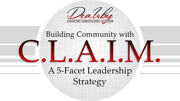 Building Community with C.L.A.I.M - 2021