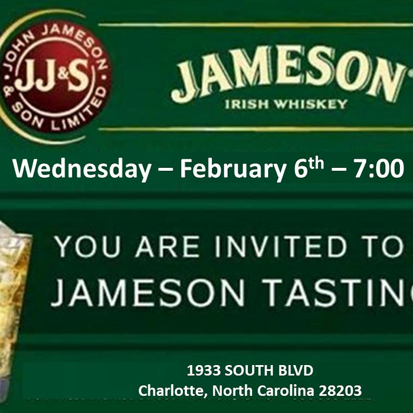 Jameson Irish Whiskey Tasting