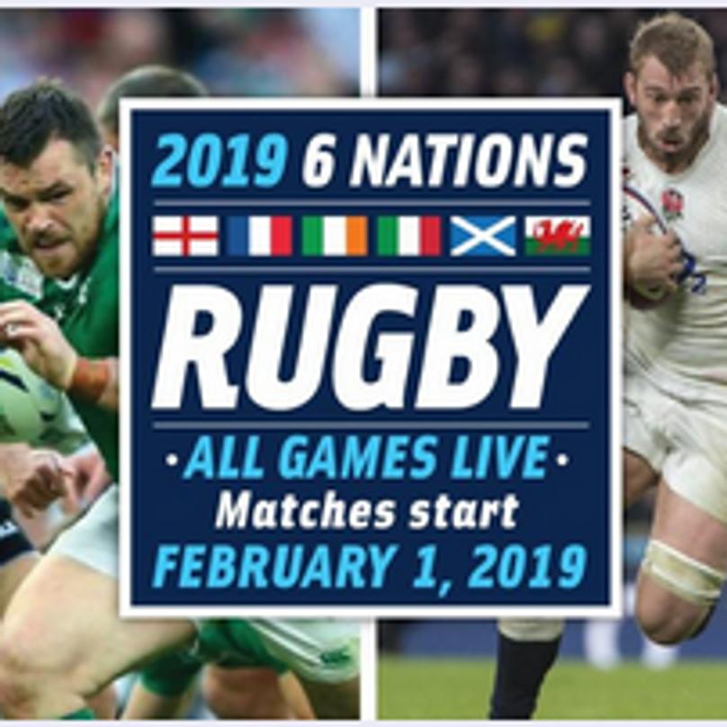 Rugby - Ireland v England (Round 1)