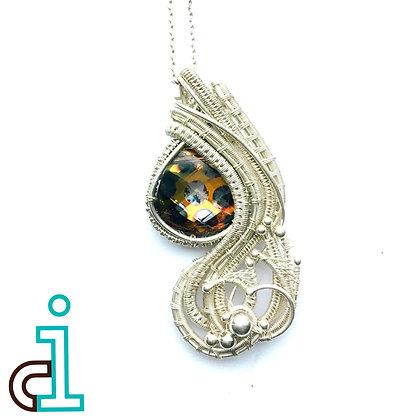 Peacock Teardrop