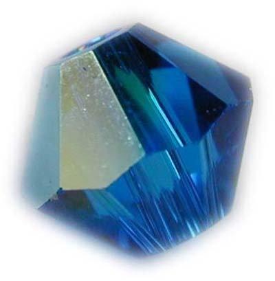 Swarovski 4mm bicone crystal -Capri AB