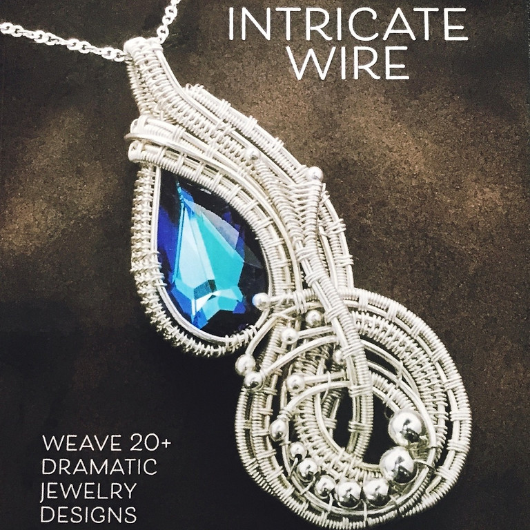 """Wire-weave Jewelry AUCTION - pieces used in making """"INTRICATE WIRE"""" book by I.D.Jewelry and Design"""