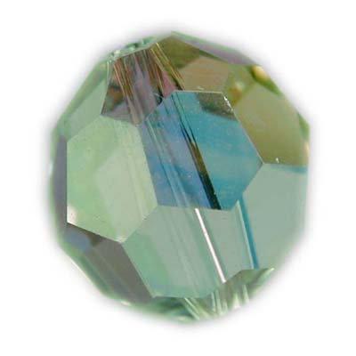 Swarovski 4mm round crystal -Chrysolite an