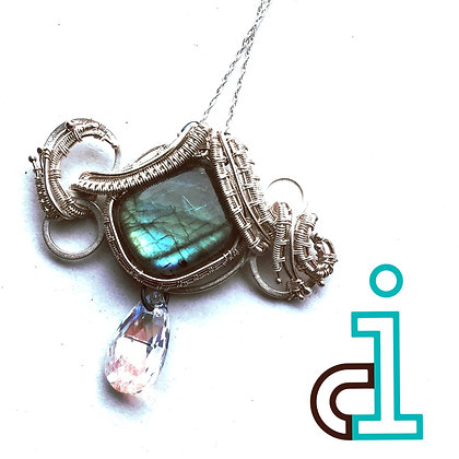 Northern Lights Bubble Necklace