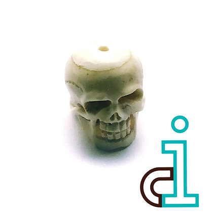 Smaller Bali Skull #8- hand carved