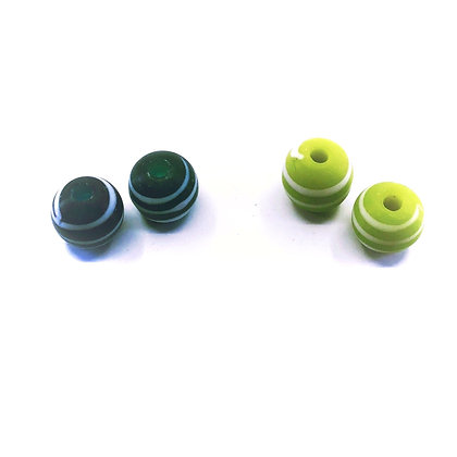 12mm round glass bead