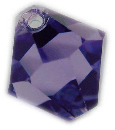 Swarovski 8mm bicone crystal dangle