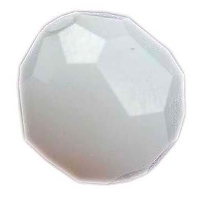 Swarovski 6mm round crystal - white alabaster
