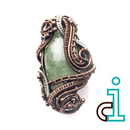 Beryl (Green Aqua) Storm Ring