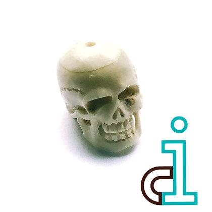 Smaller Bali Skull #7- hand carved