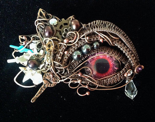 Steampunk Eye Necklace