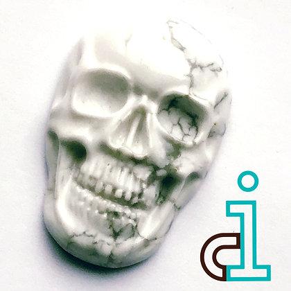 Howelite Skull