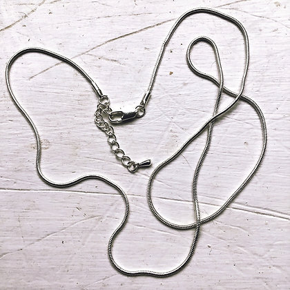 """1mm finished 22"""" Snake chain"""
