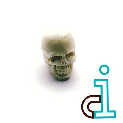 Smaller Bali Skull #9- hand carved