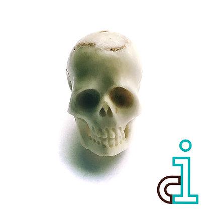 Bali Skull  #2- hand carved